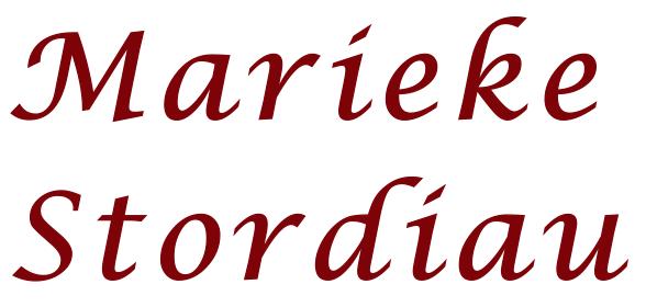 Marieke Stordiau Logo