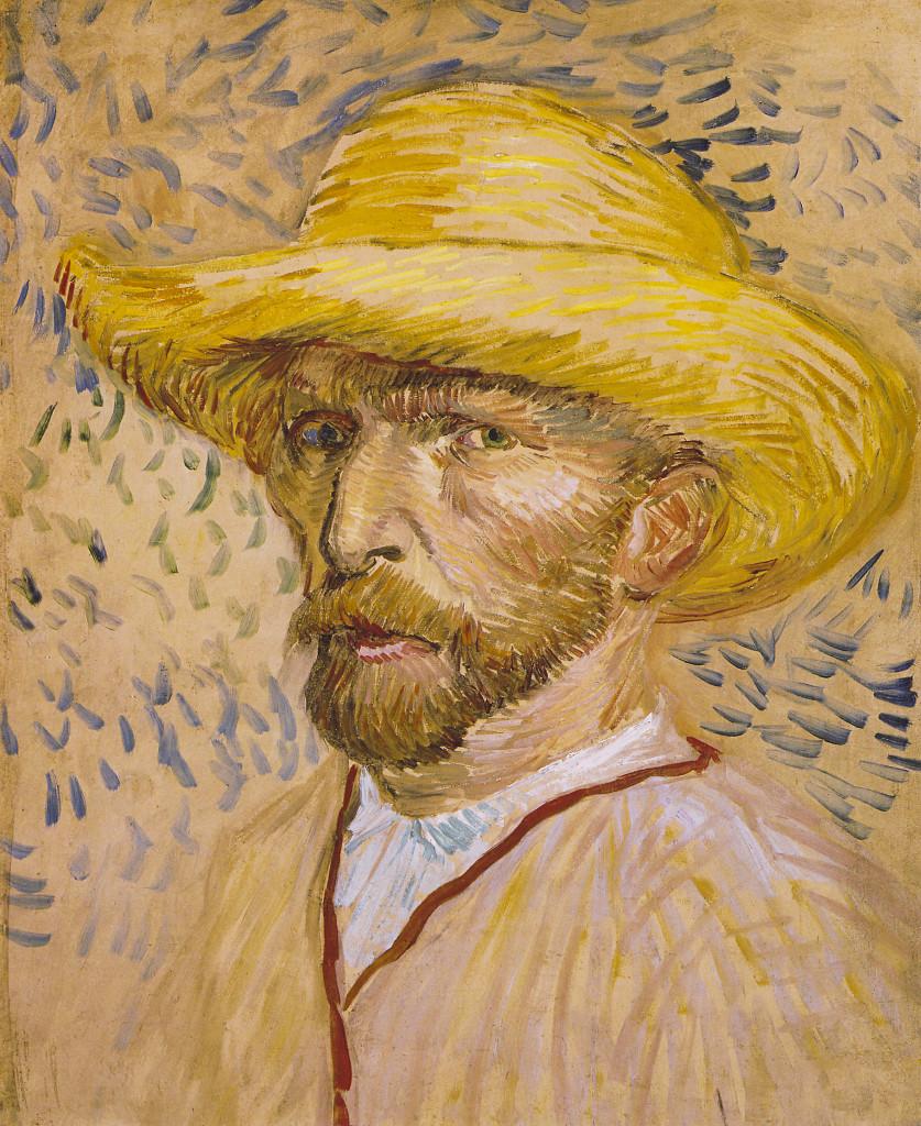 Vincent van Gogh zelfportret 1890