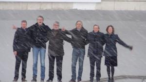 Hexagon Ensemble in winters Ufa