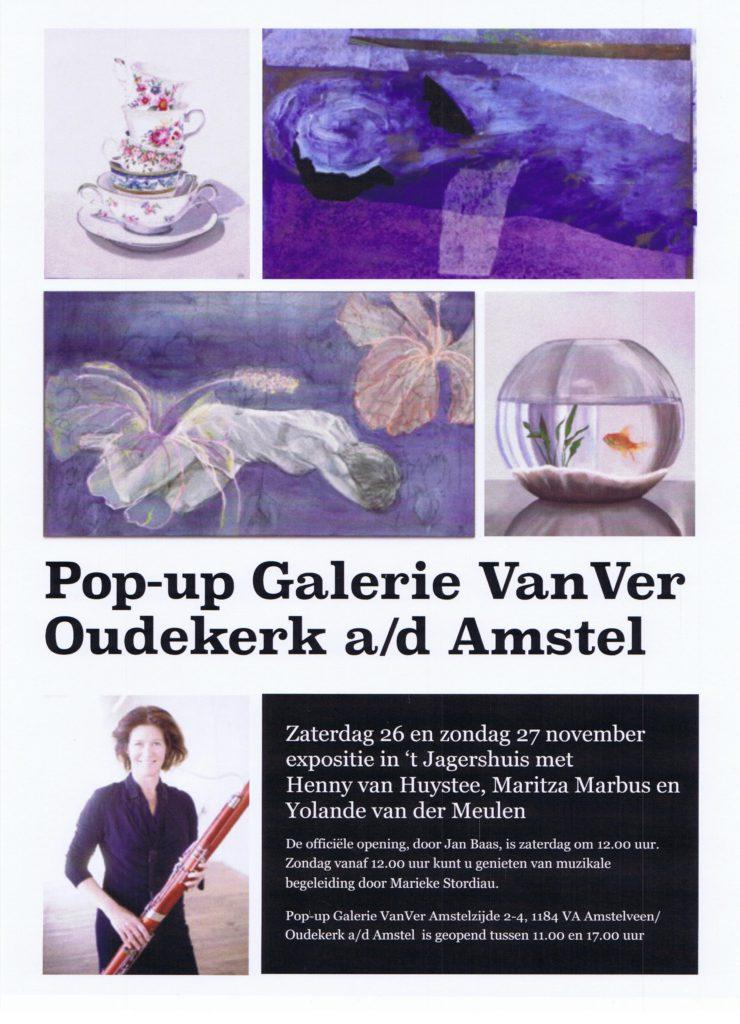 Expositie 26-27 november Galerie VanVer